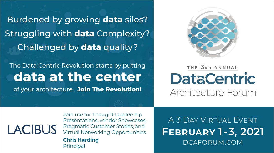 Data Centric Architecture Forum February 2021